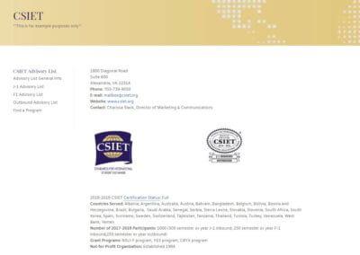 Weblinks Example Screen Shot